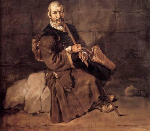 Portrait of a Beggar Resting
