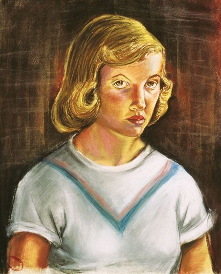 Sylvia Plath, Self-Portrait, 1951.