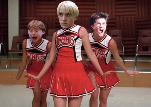 annanihilist:  francodave:  theprettyfacechase:magic-trick:   SHOOT ME!  …….what.  Draco would be Quinn   Oh   I had to.