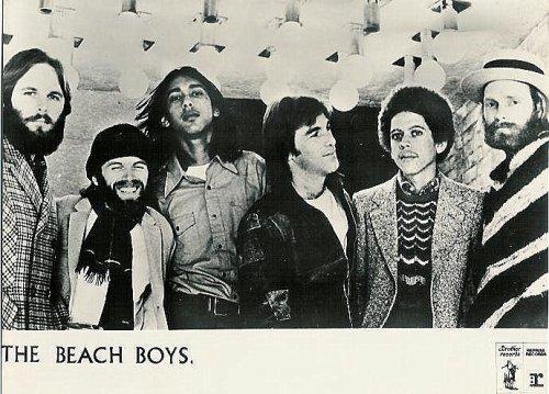 Los nuevos Beach Boys. Carl, Al, Ricky, Dennis, Blondie y Mike