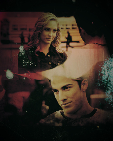 daylong:  The Vampire Diaries / Tyler & Caroline