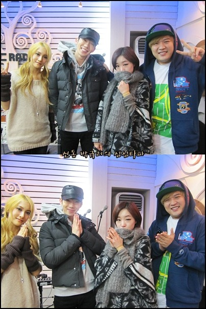 110105 Kwon & Ga-in on ShimShimTaPa gyuri cried too… it really was emotional so i hope it gets subbed for you all to listen to, soon