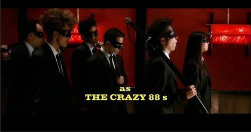Crazy 88 from Kill Bill