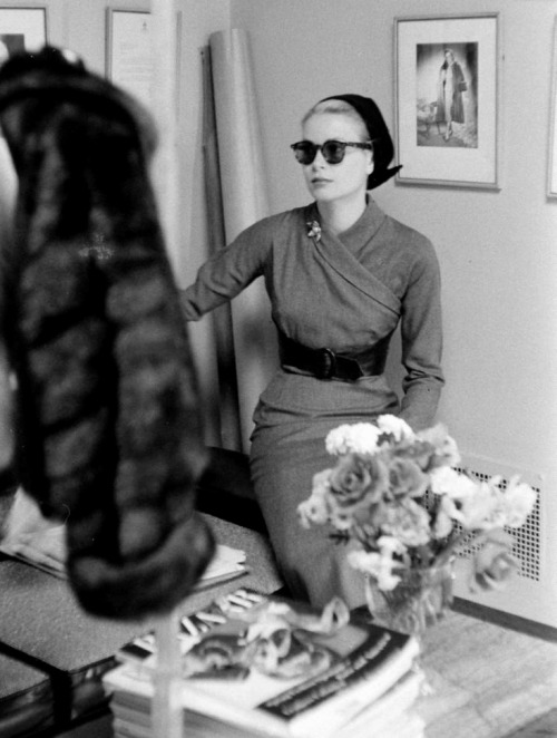 Grace Kelly, 1956, foto de Lisa Larsen via princessgracekelly