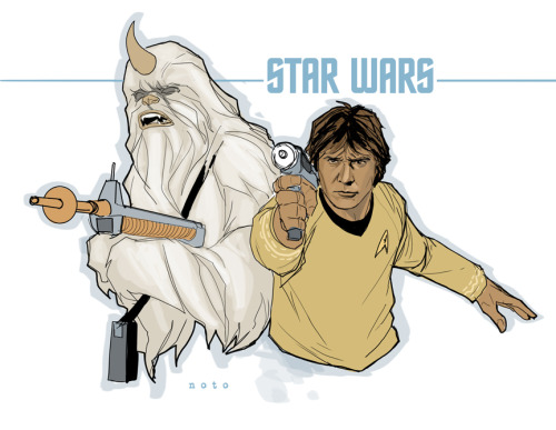 """Chewie, set your phaser to stun!"""