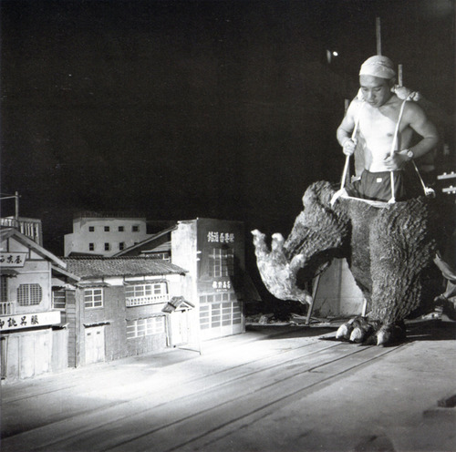 Making of Godzilla?