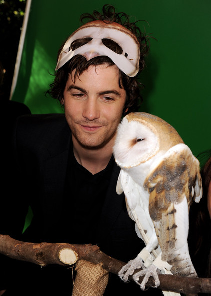Jim Sturgess with an Owl
