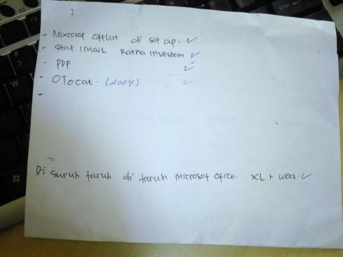 Job list: Mixcosof Offlut di sit ap, Otocat, XL+Wod?????