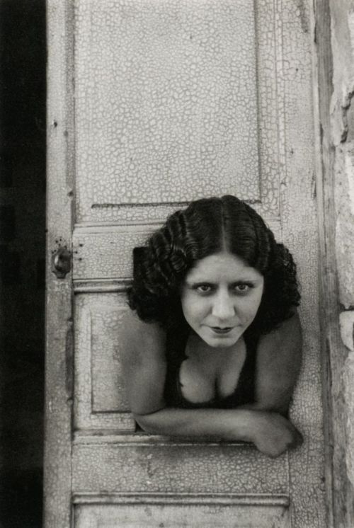 Henri Cartier-Bresson Prostitute, Calle Cuauhtemoctzin Mexico City, 1934 From Henri Cartier-Bresson: Scrapbook
