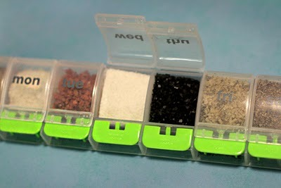 Pill Box For Traveling Spices