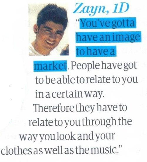"""Do pop stars care more about their look than their music?"" Scan from we love pop If you use/edit please credit me"