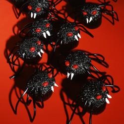 Vampire Spider Cupcakes