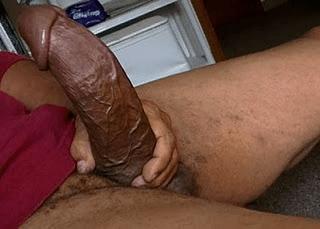 big cock in public