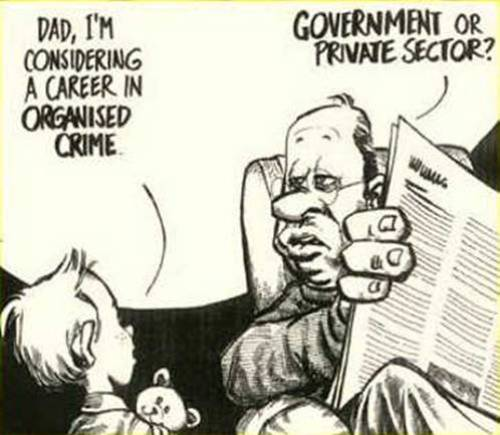 A career in organized crime