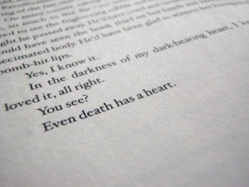 eightbullets:The Book Thief, Mark Zusak.