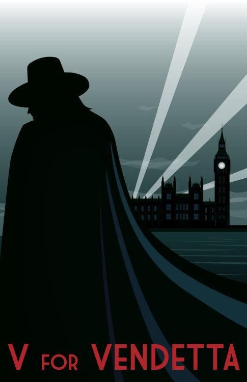 V For Vendetta by chinoviceral gofarandaway 's request