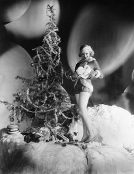the-asphalt-jungle:</p><br /> <p>Claire Trevor - Christmas 1930s<br /><br />