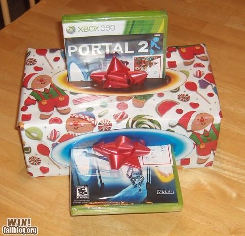 Portal 2 Xmas prezzie