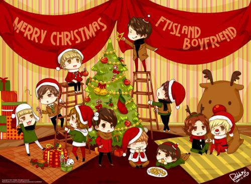 zelinair:</p> <p>Cute fanart fromRabbit_兔兔(weibo).<br /> Merry Christmas! (I love her fanart!)<br />