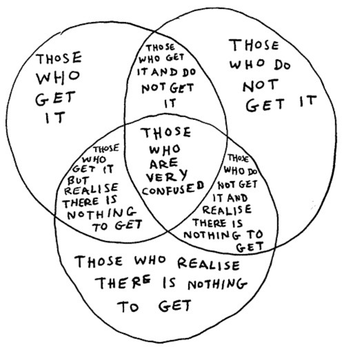 those who get it explained in a venn diagram Funny Venn Diagrams