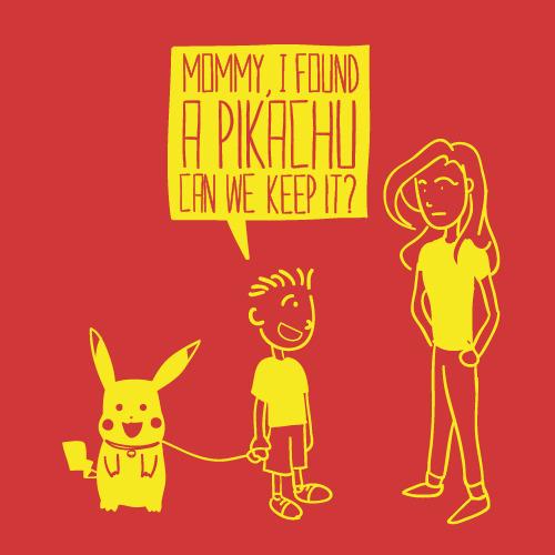 até parece que você ia deixar seu filho ficar com uma ratazana amarela com cara de louca