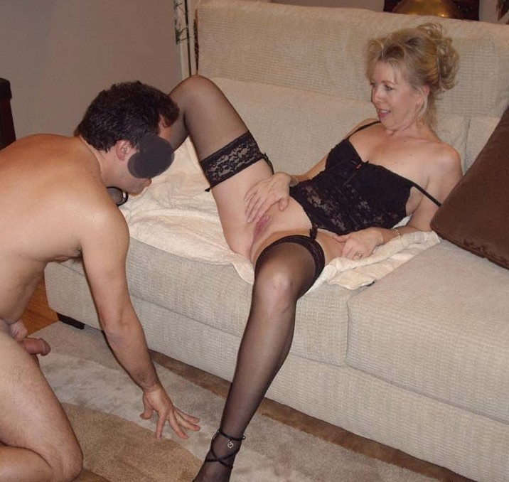First porn flick for sexy young granny 2