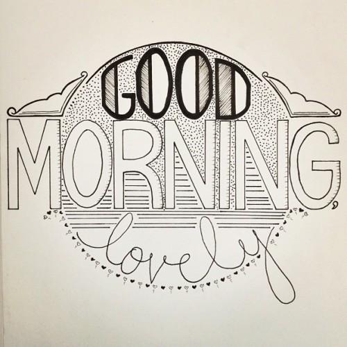 Hand Drawn Typography On Tumblr