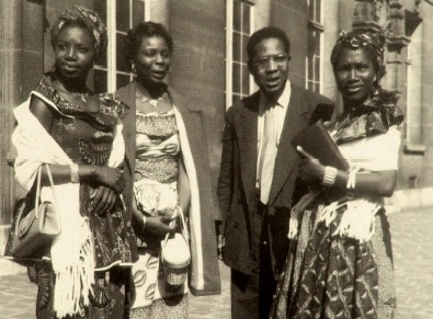 Aimé Césaire at the first Congress of Black Writers and Artists<br /><br /><br /><br /><br /><br /><br /><br /><br /><br /><br /><br /> (Paris 1956)