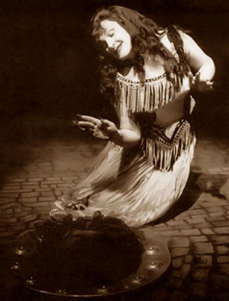 Birgit Nilsson as Salome, year unknown