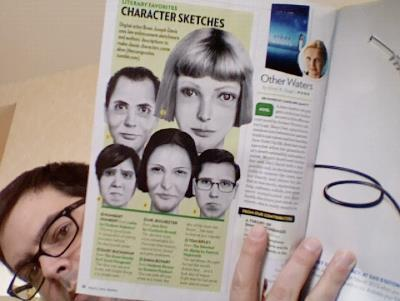 The Composites was featured in People Magazine this week. Thanks to everyone who contributed and shared ideas. Please continue to send them in and look for new work this weekend, after I'm finished running Joyland's table at the AWP conference. (And I've been busy with this as well!)