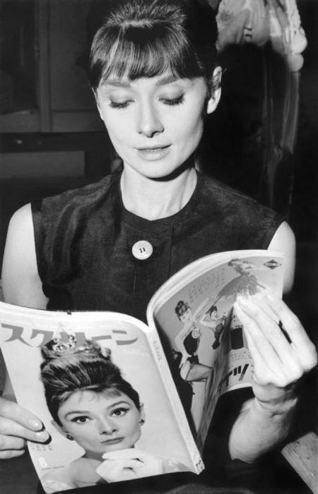 Audrey Hepburn reads.