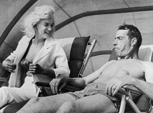 Marilyn Monroe e Joe DiMaggio. Que clima!
