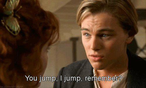 I'd probably jump