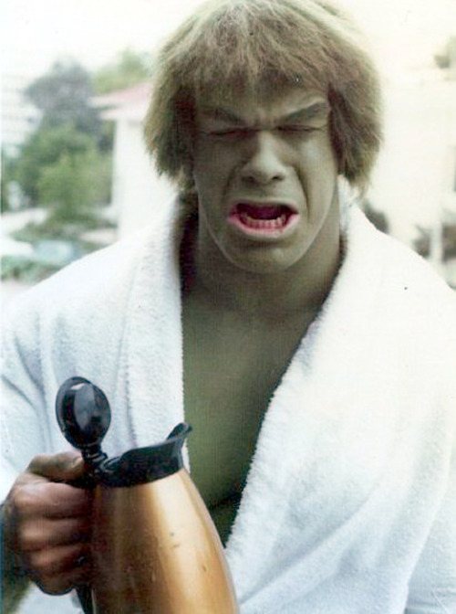 hulk cry no coffee