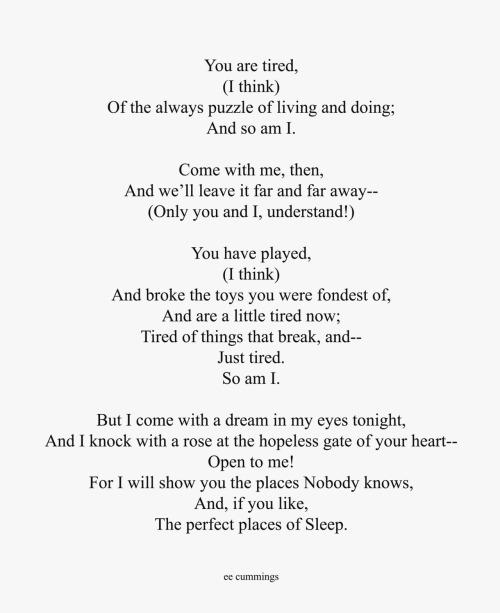 Cummings Poems 6