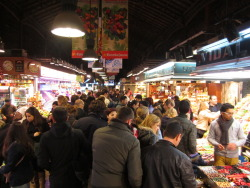 Boqueria by night