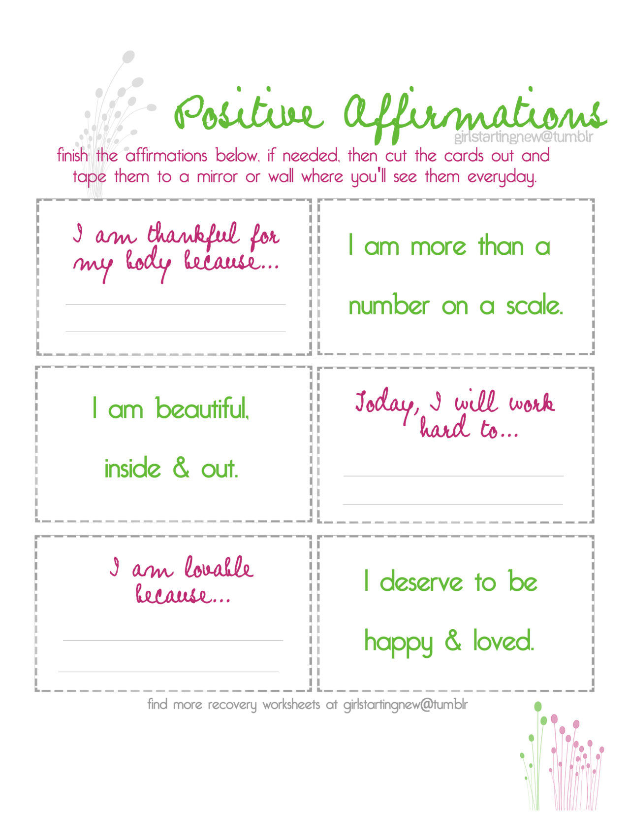 Images About Positive Affirmations