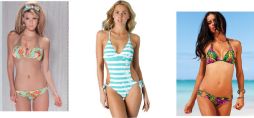 Swimsuits for Rectangle by thehautebunny featuring 2 piece bathing suits2 piece bathing suit, $230Victoria s Secret bikini swimwear, $48Side-tie Cutout One-Piece at Alloy, $35