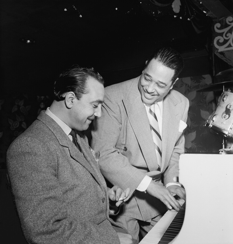 Django Reinhardt and Duke Ellington