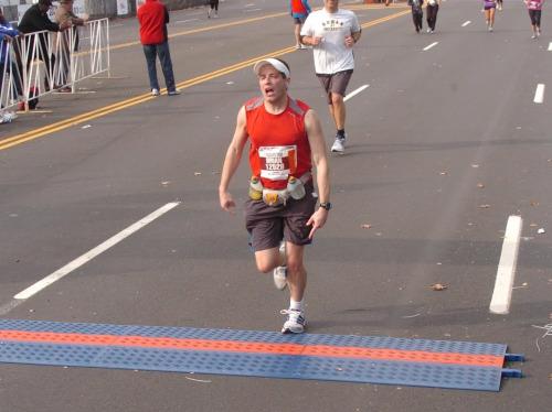 Brian Philadelphia Marathon November 20, 2011