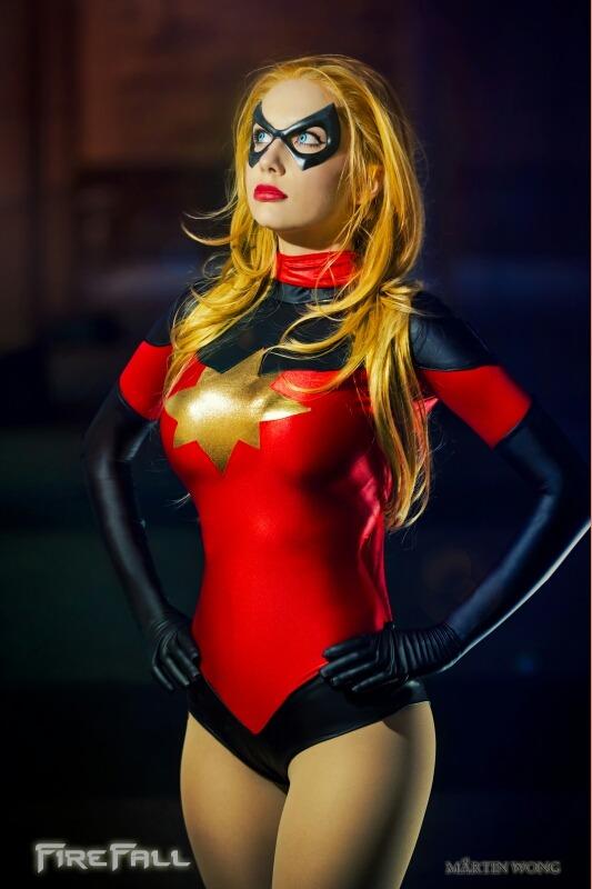 Moonstone as Ms. Marvel