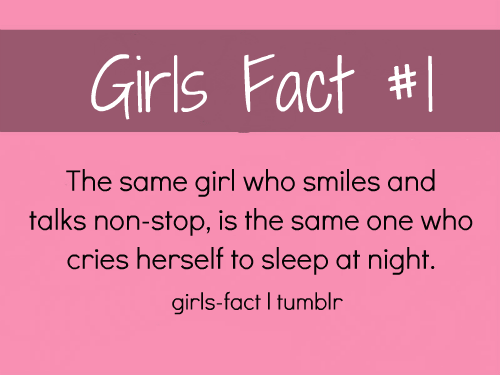 girls fact , first post :) MORE ARE COMING HERE