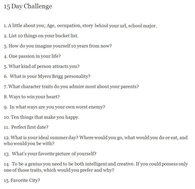 I'll start tomorrow. Feel free to join me!
