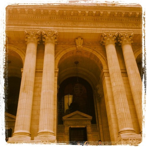 New York Public Library (Taken with Instagram)