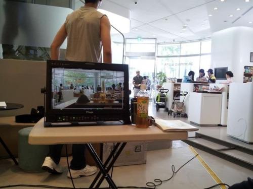 Minho @ To The Beautiful You' drama filming Source: Forever_Minho