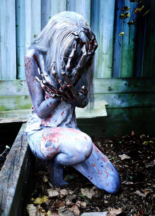 witch cosplay l4d2