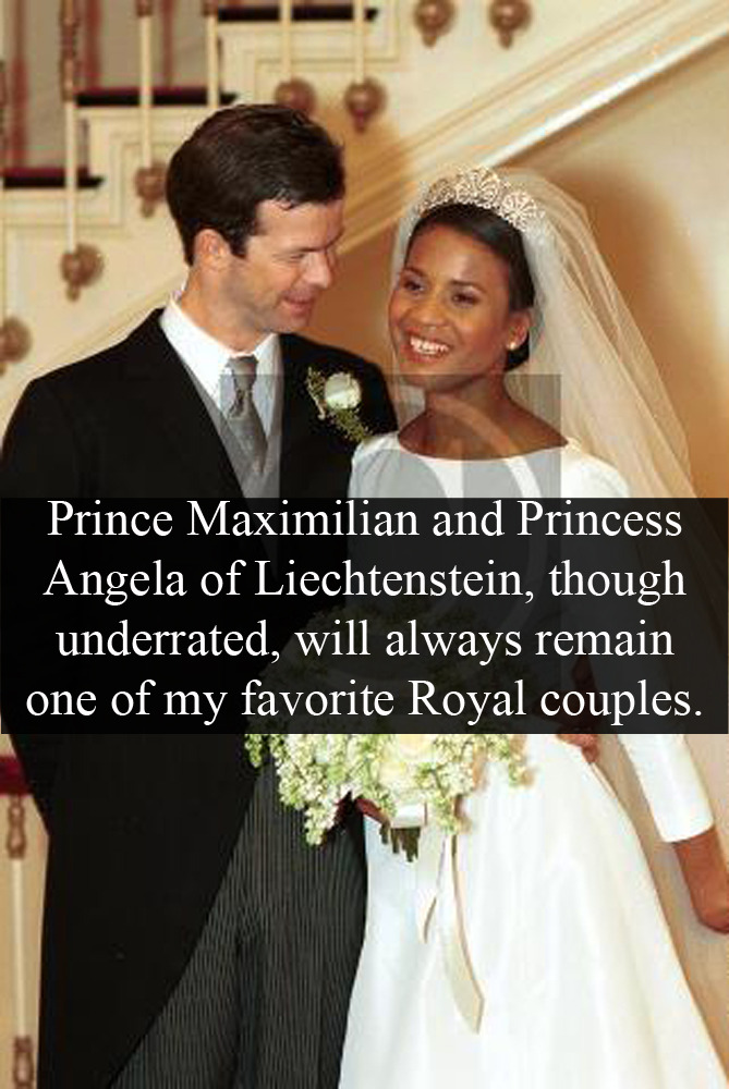 And Maximilian Prince Angela Princess Brown Liechtenstein