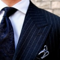 Men's Essentials: Pinstripe Suit