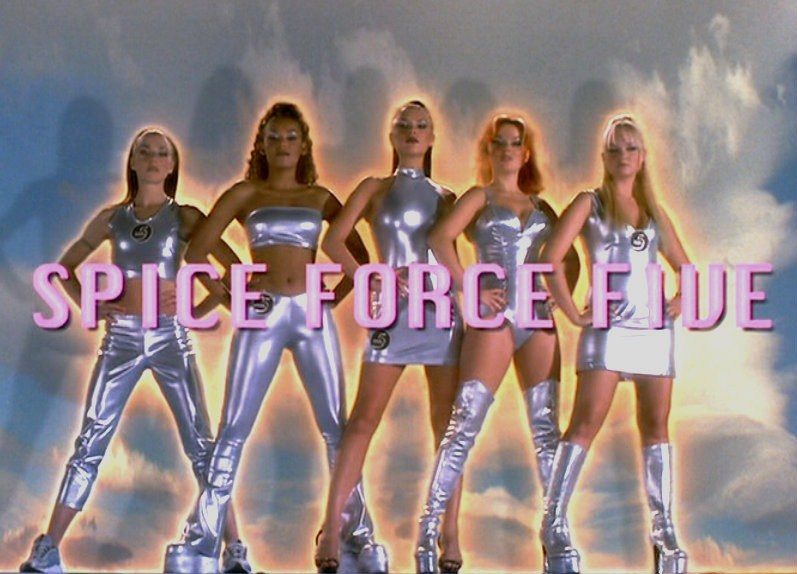 SPICE GIRLS SPICE FORCE 5