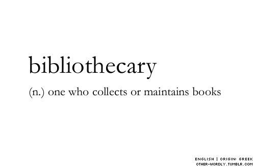 Bibliothecary